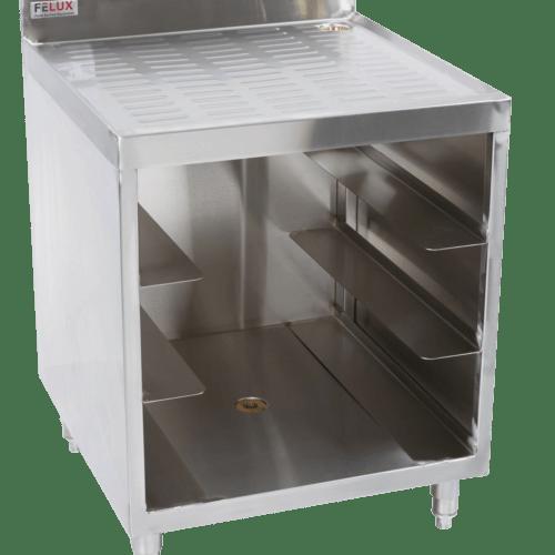 felux_glass rack storage
